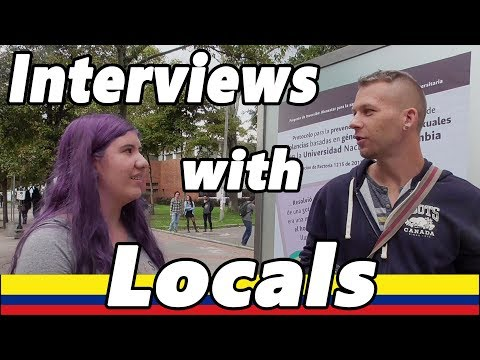 COLOMBIA - INTERVIEWS WITH LOCALS - Robbed in Bogotá / How dangerous is Colombia?