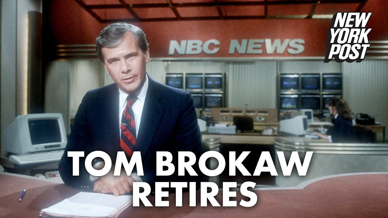 Tom Brokaw To Retire From NBC News After 55 Years With The ...