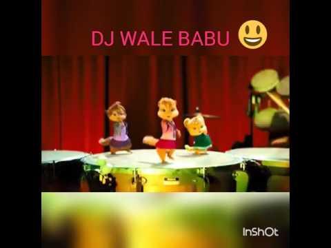 ''DJ WALE BABU'' Chipmunk Dance