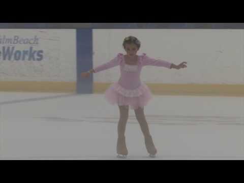 Alexandra Greenberg Compete USA Palm Beach Ice Works 2017