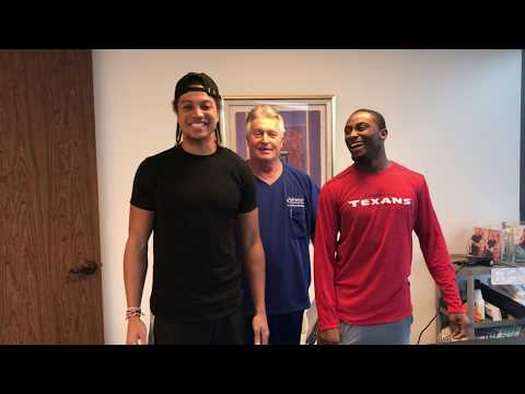 Houston Texans DB Robert Nelson Refers Texans Receiver Dres Anderson To Top Houston Chiropractor