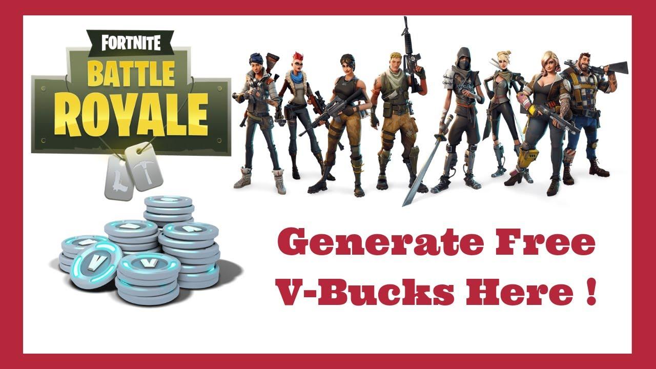 Fortnite Free Vbucks Generator 2019 - Battle Royale Hack ...