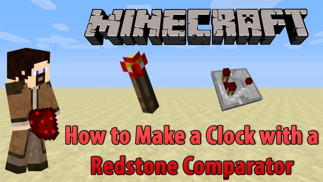 how to build a redstone comparator