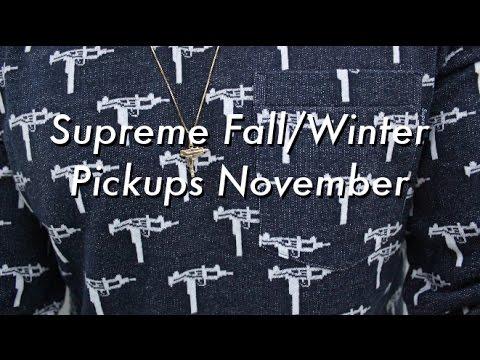 67a4be000e21b Supreme Fall Winter 2015- November Pickup