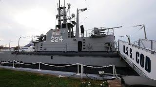 U.S.S. Cod Submarine Memorial. Cleveland, OH.