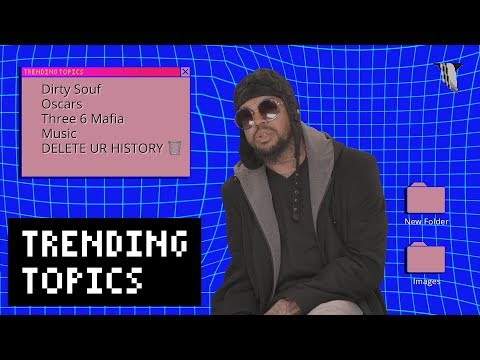 "DJ Paul on Three 6 Mafia, ""Plain Jane,"" and his Oscar | Trending Topics"