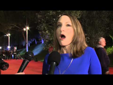 Nina Jacobson interviewed at the 'Catching Fire' Rome Premiere