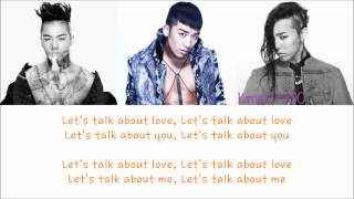 Скачать Seungri Let S Talk About Love Ft Taeyang G Dragon Hangul Rom English Color Picture Coded HD