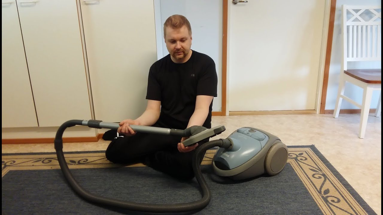 Betere Philips Universe Vacuum Cleaner Review/Demonstration/Mess Test IO-89