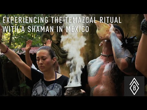 Experiencing The Temazcal Ritual With A Shaman In Mexico