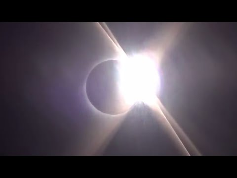 Total Eclipse of the Sun Phases from Wyoming with Time Lapse