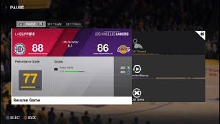 NBA LIVE 18 LA Lakers vs Clippers Incredible 4th Quarter Ending!!!!