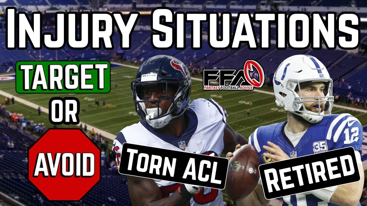 Injury News You NEED to KNOW Before Drafting - 2019 Fantasy Football