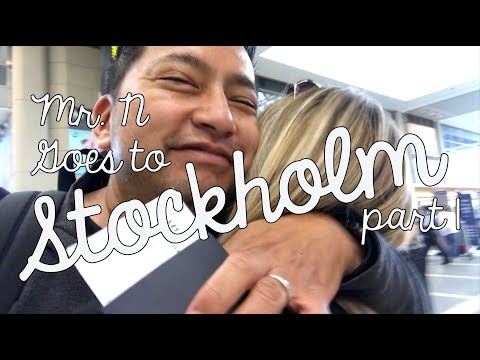 Teacher VLoG About Technology - Google Innovator Stockholm Trip pt 1