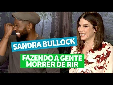 BIRD BOX: entrevista com Sandra Bullock e Trevante Rhodes