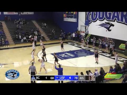 USF Women's Basketball vs Bethel