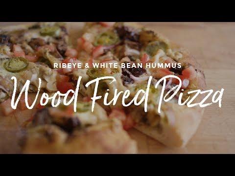 Ribeye & White Bean Hummus Pizza