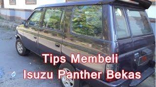 Tips Membeli Isuzu Panther Bekas