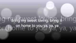 Otis Redding Bring It On Home To Me With Carla Thomas Lyrics