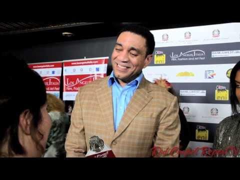 Harry Lennix #TheBlackList at the Opening Night 9th Annual L.A. Italia Film Festival @HarryJLennix