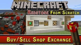 Minecraft :: Buy/Sell Shop :: Redstone From Scratch Ep12