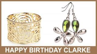 Clarke   Jewelry & Joyas - Happy Birthday
