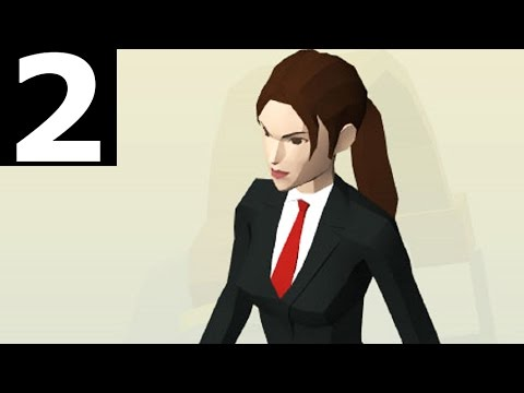 Lara Croft GO Gameplay Part 2 - The Maze Of Stones - Walkthrough (No Commentary) (Steam PC 2016)