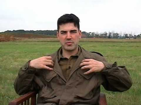 Ron Livingston's Band of Brothers Video diary: Part 2/12