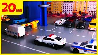 [20분]토미카 시쿠 자동차 장난감 놀이 스탑모션 연속…