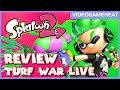 Splatoon 2 Switch LIVE REVIEW | Leveling Up In Turf War Online | Unboxing 8-Bit Mario & Peach Figure
