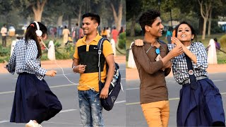 Cute School girl Asking Sunny Leone kaun hai | Nishu Tiwari | Comment Trolling Prank