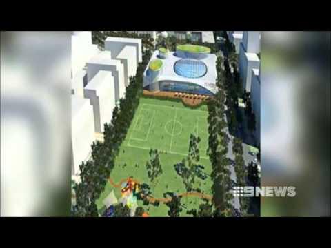 Nine News Sydney: Aquatic Centres & Aquatic Parks (12/8/2013)