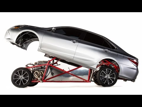"""2015 Toyota Camry Xse >> 2015 Toyota Camry XSE """"Sleeper Camry"""" Dragster Mod - YouTube"""