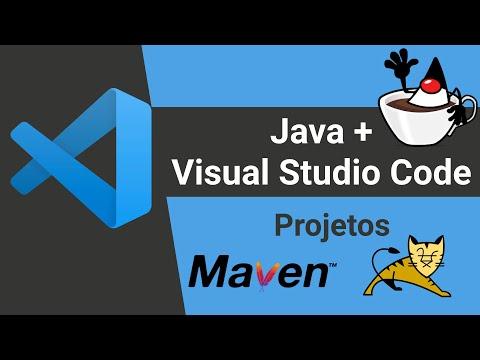 Java no Visual Studio Code: Projetos com Maven e Tomcat