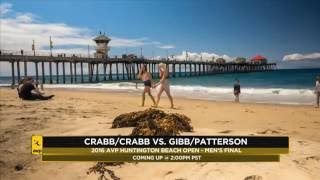 Huntington Beach Men's Final Crabb Brothers vs Jake Gibb & Casey Patterson