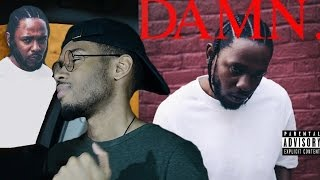 Kendrick Lamar - DAMN. First REACTION/REVIEW