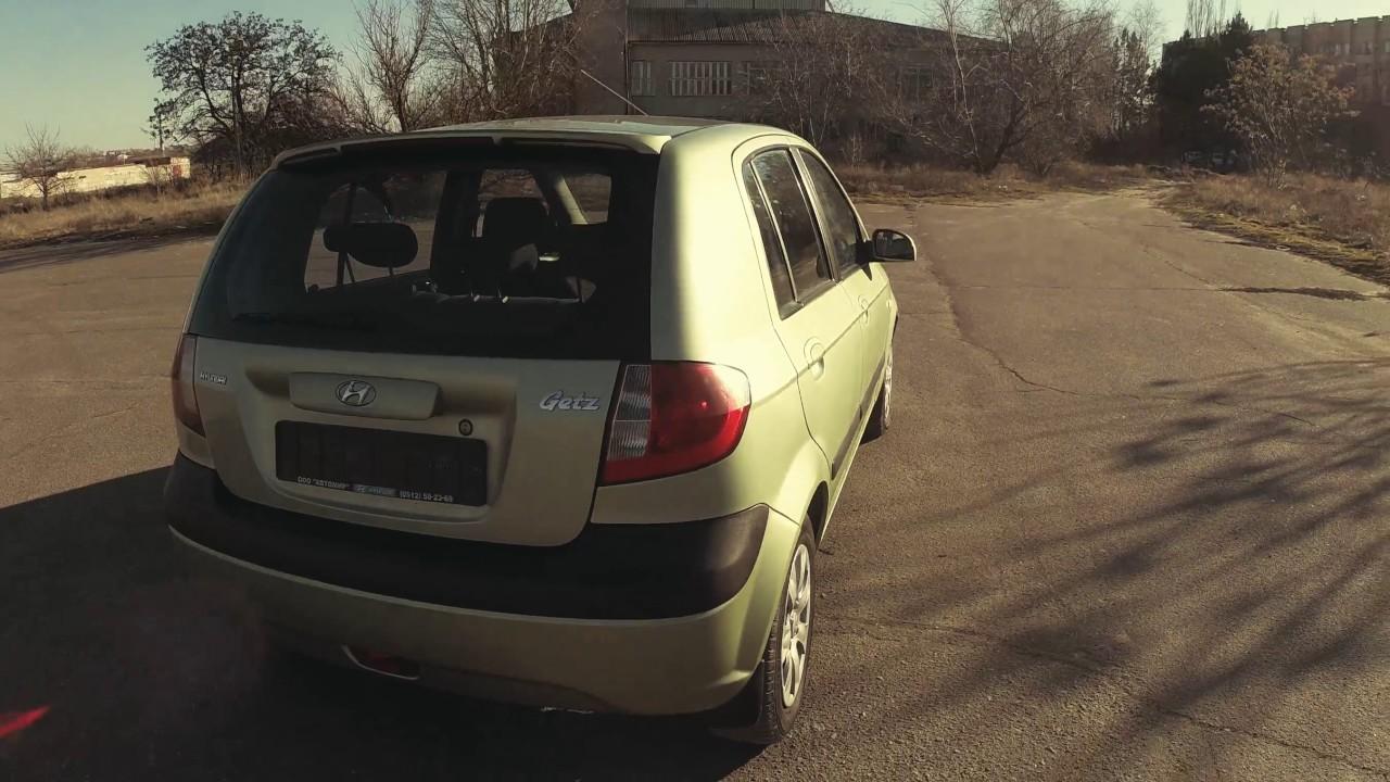 Обзор б/у автомобиля Hyundai Getz Автоцентр ТВ 2002-2010 г. в .