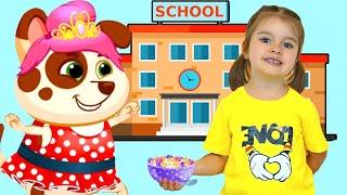Полная История для детей как Арина попала в игру к песику Duddu | Арина как мама для Бубу и Дуду