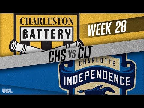 Charleston Battery Vs Charlotte Independence: September 19, 2018