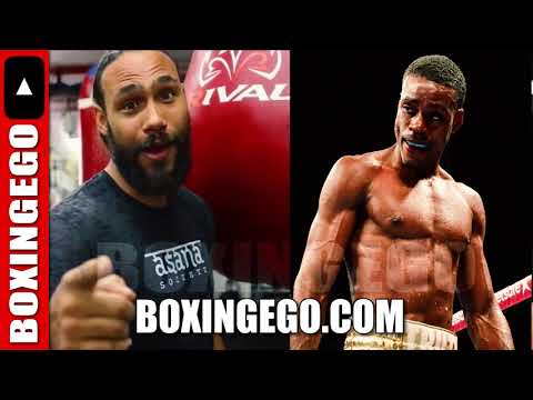 ERROL SPENCE GETS SAVAGE CALLS OUT KEITH THURMAN CALLS HIM