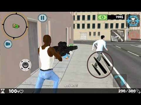 ► Grand Vegas Gangster Crime 3D Android Gameplay (Vegas crime simulator)