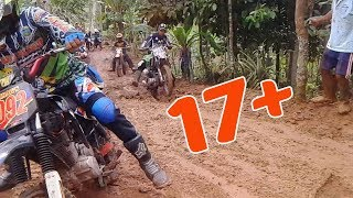 Video Gara - gara di tonton cewek cantik  RIDER jatuh kaku. trail motocross adventure #2017 download MP3, 3GP, MP4, WEBM, AVI, FLV Desember 2017