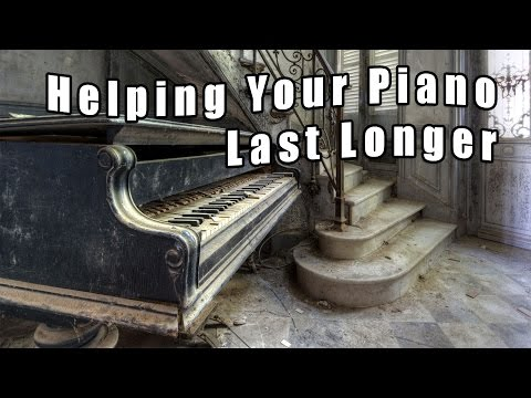 Helping Your Piano Last Longer - Pianos and Humidity