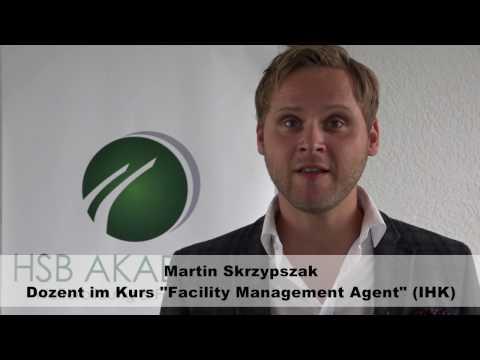Martin Skrzypszak ist Dozent im Kurs Facility Management Agent (IHK)