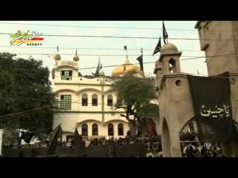 Part-2 Ziyarat Taboot 18 Bani Hashim Kanpur 1437   Badi Karbala Nawab Ganj, Kanpur