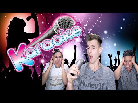 Karaoke Time! (We're Horrible)