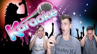 Karaoke Time! (We're Horrible)