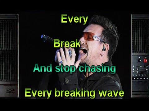 Every Breaking Wave karaoke