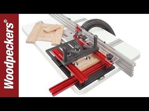 Woodpeckers治具級路達桌推板【代購】精準大量生產專用 重複製加工代工帶鋸機JN鑽床table RT TS DP