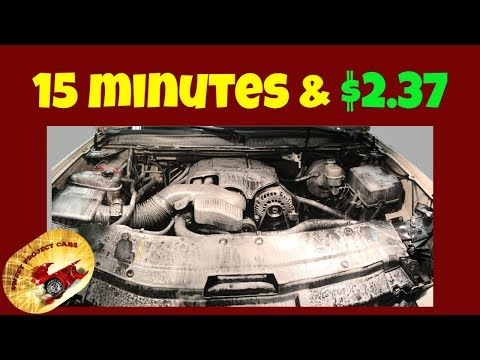 How To CLEAN an Engine Bay for $2.37..... AMAZING!!
